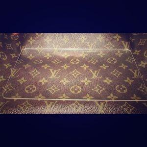 Engraved initials purse shaper for Louis Vuitton